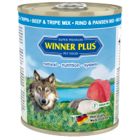 Winner Plus DOG PUR Rind & Pansen Mix 800g