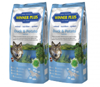 Winner Plus Holistic Duck & Potato 2x12 kg SPAR-PAKET