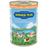 Winner Plus DOG JUNIOR Geflügel & Reis 400g