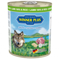 Winner Plus DOG Lamm 100% & Reis 800g