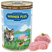Winner Plus DOG MONO PUR Truthahn 400g