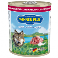 Winner Plus DOG PUR Fleischtopf Rind/Lamm/Pute 800g