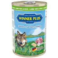 Winner Plus DOG Lamm 100% & Reis 400g