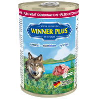 Winner Plus DOG PUR Fleischtopf Rind/Lamm/Pute 400g
