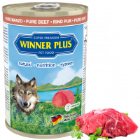 Winner Plus DOG MONO PUR Rind 400g